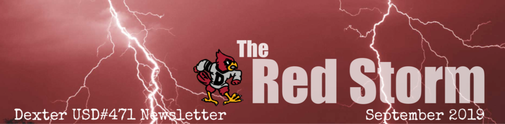 "September 2019 ""Red Storm"" Newsletter"